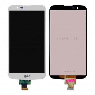 Дисплей LG K10TV K410TV, K10TV K430TV, с тачскрином, White