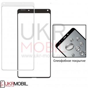 Стекло дисплея Xiaomi Mi Mix 2, Original, с олеофобным покрытием, White