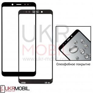Стекло дисплея Xiaomi Redmi Note 5, Redmi Note 5 Pro, с олеофобным покрытием, Black