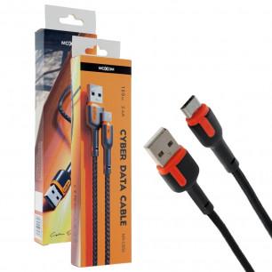 Кабель Moxom MX-CB52, 2.4A, 1m, Micro USB