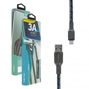 Кабель Moxom MX-CB75, 3A, 1m, Micro USB