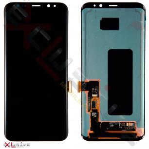 Дисплей Samsung G955 Galaxy S8 Plus, с тачскрином, Original PRC, Black