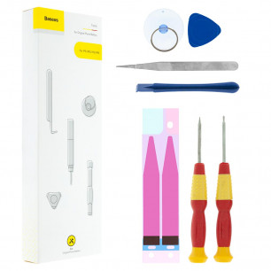 Набор инструментов и отвертки Baseus (ACDM-IP56S) для замены батарей на iPhone 5, iPhone 5S, iPhone 6, iPhone 6S