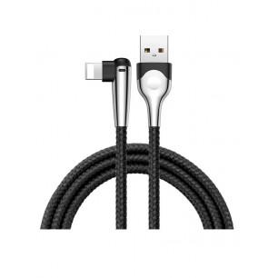 Кабель Baseus Sharp-Bird Mobile Game (CALMVP-D01), USB to Lightning, 2.4A, 1m, Black