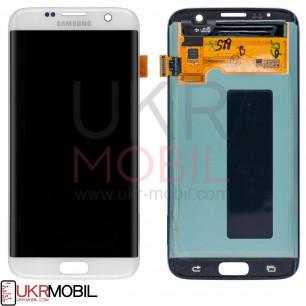 Дисплей Samsung G935 Galaxy S7 Edge, с тачскрином, Original PRC, White