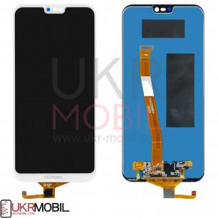 Дисплей Huawei P20 Lite, Nova 3e (ANE-LX1, ANE-L21), с тачскрином, Original PRC, White