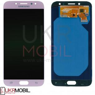 Дисплей Samsung J730 Galaxy J7 2017, с тачскрином, OLED, Pink