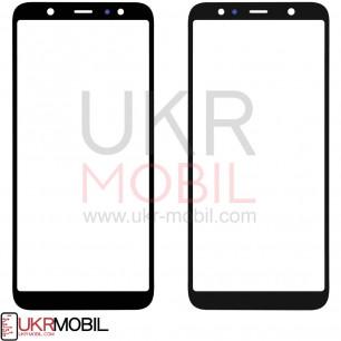 Стекло дисплея Samsung A605 Galaxy A6 Plus 2018, Black