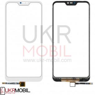 Сенсор (тачскрин) Xiaomi Mi A2 Lite, Redmi 6 Pro, High Copy, White