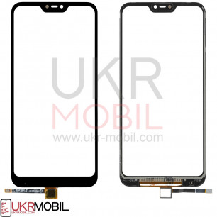 Сенсор (тачскрин) Xiaomi Mi A2 Lite, Redmi 6 Pro, High Copy, Black