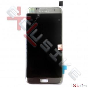 Дисплей Samsung G935 Galaxy S7 Edge, с тачскрином, Original PRC, Silver