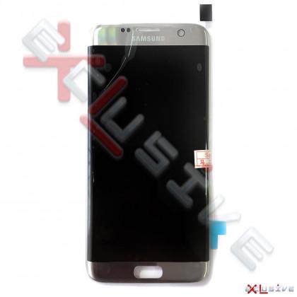 Дисплей Samsung G935 Galaxy S7 Edge, с тачскрином, Original PRC, Silver, фото № 1 - ukr-mobil.com