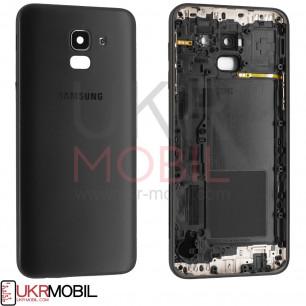Задняя крышка Samsung J600 Galaxy J6 2018, Original, Black