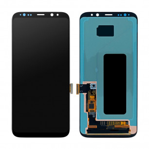 Дисплей Samsung G955 Galaxy S8 Plus, с тачскрином, OLED, Black