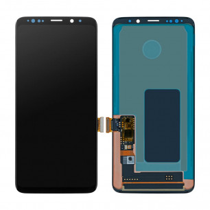 Дисплей Samsung G965 Galaxy S9 Plus, с тачскрином, OLED, Black