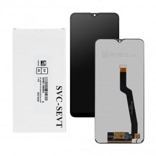Дисплей Samsung A105 Galaxy A10, Samsung M105 Galaxy M10, GH82-18685A,GH82-19124A, с тачскрином, Service Pack Original, Black