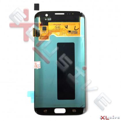 Дисплей Samsung G935 Galaxy S7 Edge, с тачскрином, Original PRC, Silver, фото № 2 - ukr-mobil.com