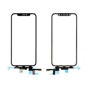 Стекло дисплея Apple iPhone X, с тачскрином, High Copy