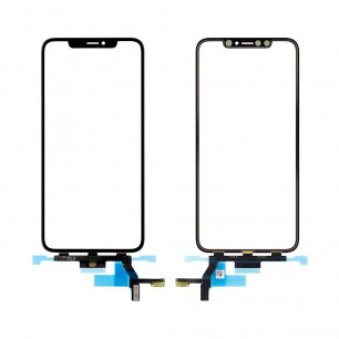 Стекло дисплея Apple iPhone XS Max, с тачскрином, Original, Black