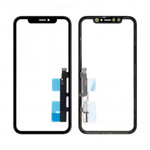 Стекло дисплея Apple iPhone XR, с тачскрином, с рамкой, Original, Black