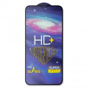 Защитное стекло Apple iPhone X, iPhone XS, Pro-Flexi HD Full Glue, Black