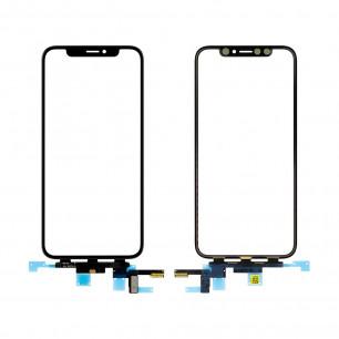 Стекло дисплея Apple iPhone XS, с тачскрином, Original, Black