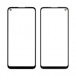 Стекло дисплея Samsung A115 Galaxy A11, M115 Galaxy M11, Original, Black
