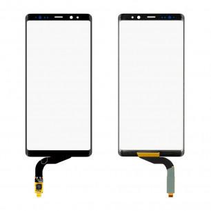 Стекло дисплея Samsung N950 Galaxy Note 8, с OCA пленкой, тачскрином, Original PRC, Black