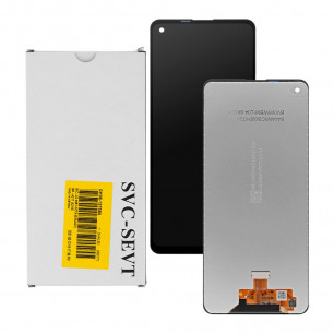 Дисплей Samsung A217 Galaxy A21s, GH82-22905A, с тачскрином, Service Pack Original