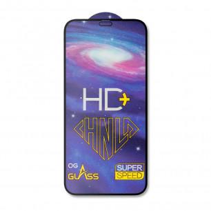 Защитное стекло Apple iPhone 12 Mini, Pro-Flexi HD Full Glue, Black