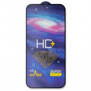 Защитное стекло Apple iPhone 12 Pro Max, Pro-Flexi HD Full Glue, Black
