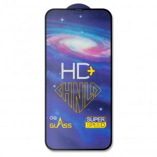 Защитное стекло Apple iPhone 12, iPhone 12 Pro, Pro-Flexi HD Full Glue, Black