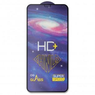 Защитное стекло Apple iPhone 11 Pro Max, Pro-Flexi HD Full Glue, Black