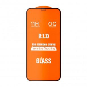 Защитное стекло Apple iPhone 12 Mini, Full Glue 2.5D, Black