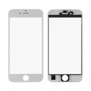 Стекло дисплея с рамкой и пленкой OCA Apple iPhone 6S, Original, White