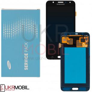Дисплей Samsung J701 Galaxy J7 Neo, GH97-20904A, с тачскрином, Original, Black