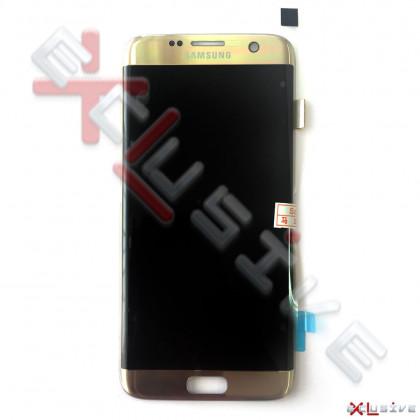 Дисплей Samsung G935 Galaxy S7 Edge, с тачскрином, Original PRC, Gold, фото № 1 - ukr-mobil.com