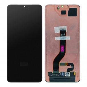 Дисплей Samsung G985 Galaxy S20 Plus, с тачскрином, Original PRC, Black