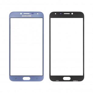 Стекло дисплея Samsung J400 Galaxy J4 2018, Blue