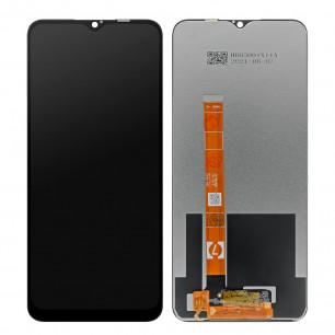 Дисплей Realme C11, Realme C12, Realme C15, с тачскрином, Original PRC, Black