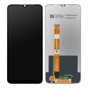 Дисплей Oppo A15 2020, A15s, с тачскрином, Original PRC, Black