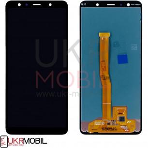 Дисплей Samsung A750 Galaxy A7 2018, с тачскрином, Original PRC, Black