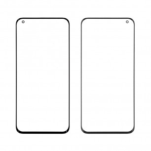 Стекло дисплея Xiaomi Mi 10, Mi 10 Pro, Black