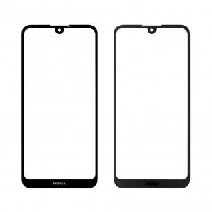 Стекло дисплея Nokia 3.2 Dual Sim TA-1156, TA-1164, Original, Black