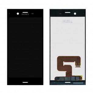 Дисплей Sony G8341 Xperia XZ1, G8342 Xperia XZ1 Dual, с тачскрином, Black