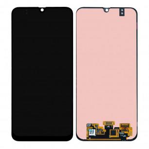 Дисплей Samsung A407 Galaxy A40s, M215 Galaxy M21, M305 Galaxy M30, M307 Galaxy M30s, M315 Galaxy M31, с тачскрином, Original PRC, Black