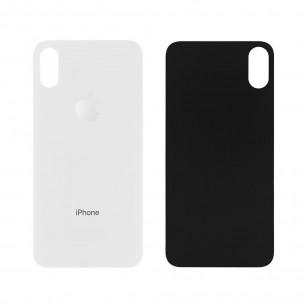 Задняя крышка Apple iPhone XS, для замены без разборки корпуса, White