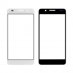 Стекло дисплея Huawei Honor 6 (H60-L01, H60-L02, H60-L04 (РСТ), H60-L11, H60-L12), White