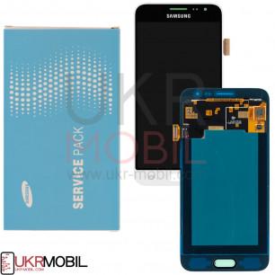 Дисплей Samsung J320F Galaxy J3 GH97-18414A (SERVICE PACK ORIGINAL)  с тачскрином White