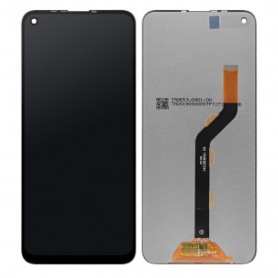Дисплей Tecno Spark 5 Pro (KD7), с тачскрином, Original, Black